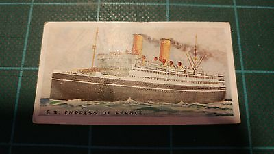 Vintage Cigarette Cards – Imperial Tobacco - Merchant Ships Of The World #7