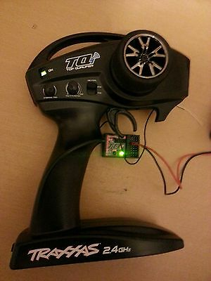 Traxxas TQI 2.4Ghz Bluetooth Transmitter and Receiver.