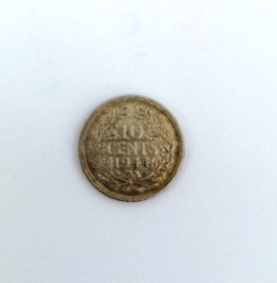 HOLLAND - 10 Cents Coin  (1944) - Netherlands