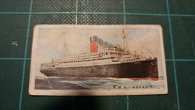 Vintage Cigarette Cards – Imperial Tobacco - Merchant Ships Of The World #11