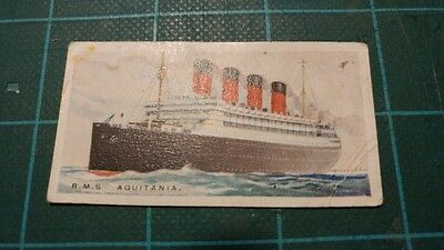 Vintage Cigarette Cards – Imperial Tobacco - Merchant Ships Of The World #12