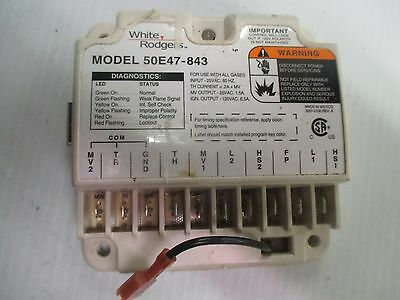 White Rodgers 50E47-843 Universal HSI Ignition Furnace Control Module a Card