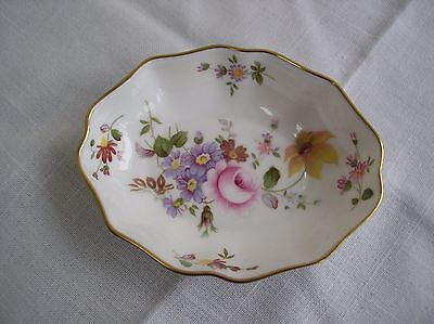 Royal Crown Derby  Fluted Dish/pin Tray  ~ Derby Posies