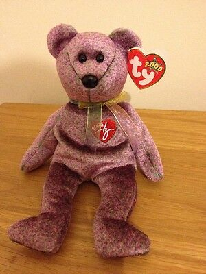 TY Beanie Baby 2000 Signature Bear Beanie Babies Fantastic Condition.