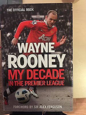 Wayne Rooney Signed Book For Great Price  £30