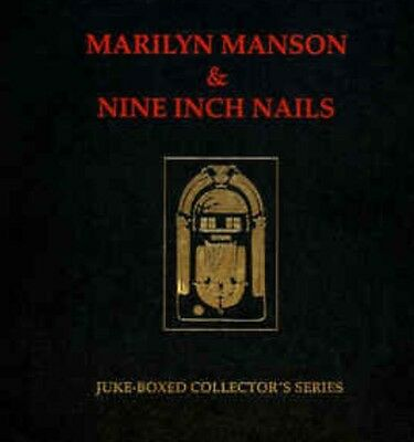 "Ltd Edition 2x7"" Vinyl Jukebox Series NIN Marilyn Manson Certificate Sash"