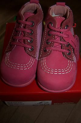 kickers fille taille 20 neuves