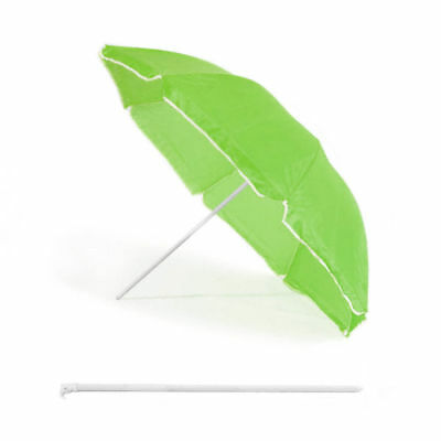 Beach Umbrella 1.5m Diameter Sun Shade/Protection Camping/Outdoor/Garden Green