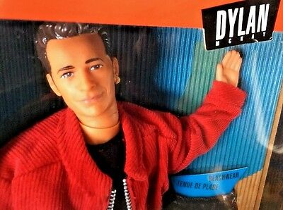 NEW Beverly Hills 90210 Dylan McKay Doll 1991  Mattel Luke Perry FREE SHIPPING!