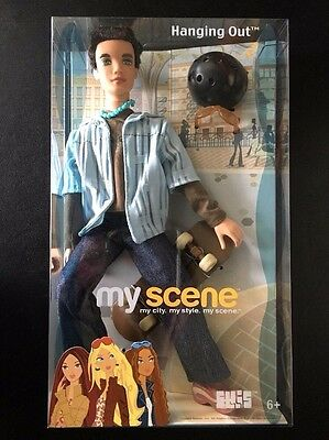 NEW My Scene Ellis Hanging Out Boy Doll Mattel #C4198 FREE SHIPPING!
