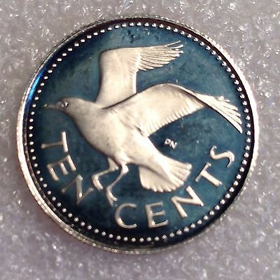 Barbados 10 Cents 1973 PROOF   #2299