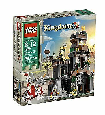 LEGO Kingdoms Prison Tower Rescue (7947) ~ Castle Knights *Retired* NEW SEALED
