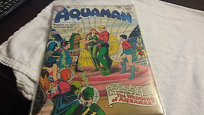 AQUAMAN 18 1964  JLA Cameo AQUAMAN & MERA WEDDING