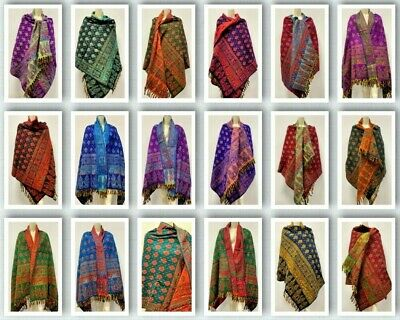 CHECK Print Scarf Tassel Beige TARTAN PLAID man &Womens Fashion Wrap Soft & Long