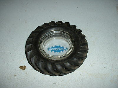 Vintage Goodyear tractor tire ashtray