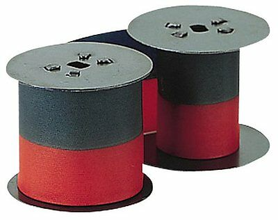 Lathem Time Recorder 2-Color Replacement Ribbon For 2121/4001 Models
