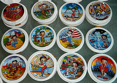 COMPLETE COLLECTION OF 12 Danbury Mint BETTY BOOP Americas Sweetheart PLATES