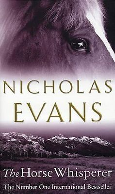 The Horse Whisperer  By  Nicholas Evans ( Large Hardcover Book ) #