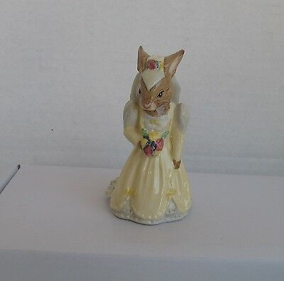 Royal Doulton Royal Albert  Bride Bunnykin Db101