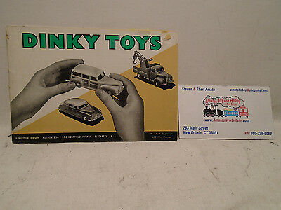 1940's Or 50's Vintage Dinky Toys Catalog & Price List