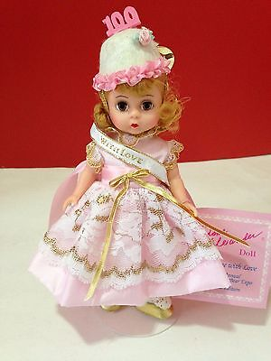 To Madame With Love 8'' Madame Alexander Limited Edition Doll & Teddy Bear Expo