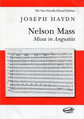 Joseph Haydn: Nelson Mass - Missa In Angustiis (Vocal Score). Choral Sheet Music