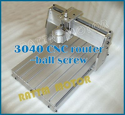 New 3040 CNC Router Milling Engraving Machine Frame Desktop Kit with 52mm Clamp