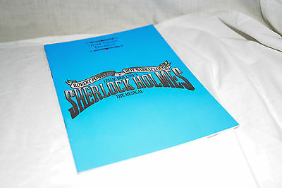 1993 Blackpool Grand Theatre Programme SHERLOCK HOLMES THE MUSICAL Robert Powell