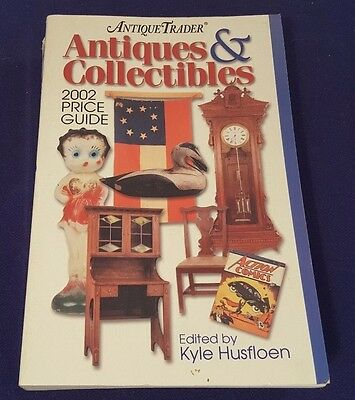 2002 ANTIQUE TRADER Antiques & Collectibles Price Guide Paperback Book