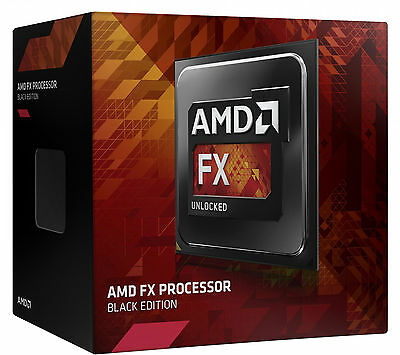 AMD FX 8320E 3.2GHz up to 4GHz Eight-Core Vishera APU AM3+ 32nm 95W