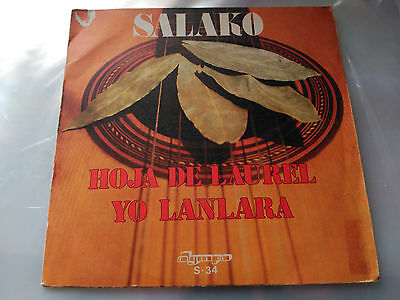 Single Salako - Hoja De Laurel - Olympo Spain 1974 Vg+