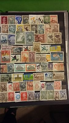 70 timbres Argentine (lot 15)