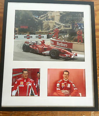 Michael Schumacher F1 signed Photo autograph.