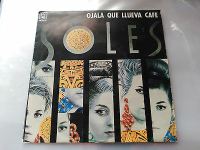 Single Soles - Ojala Que Llueva Cafe - Horus Spain 1991 Vg+