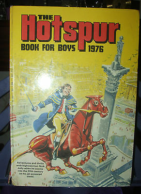 The Hotspur Book for Boys 1976 Unclipped