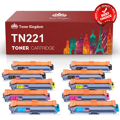 TN221 BK TN225 Color Toner Lot For Brother MFC-9130CW, MFC-9330CDW, MFC-9340CDW
