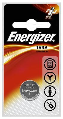 1 x Energizer CR1632 3V Lithium Coin Cell Battery DL1632 1632 BR1632