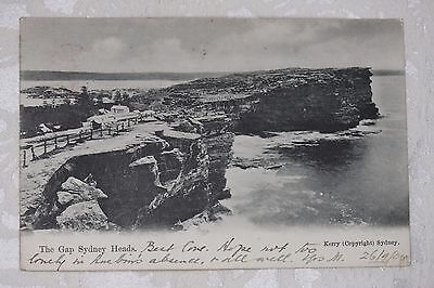 Australia  Old Postcard with stamps - lot e181