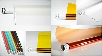 COTECH LIGHTING FILTERS GELS ROLLS FILTER FILM 300+ COLOUR 1.22mtr x 7.62mtr