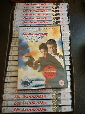 BULK/JOBLOT (Case of 25 DVD's)  of Die Another Day (DVD, 2003, 2-Disc Set)