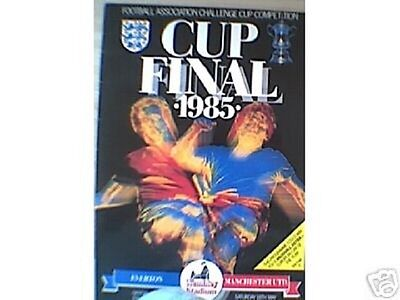 1985 FA Cup Final-------Everton v Manchester United