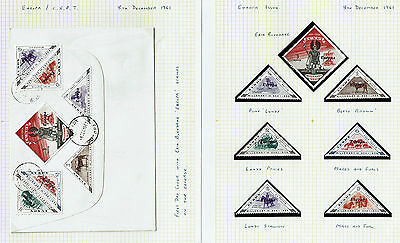 GB 1961 to 1982 Collection of Lundy Island Stamps & Cover MNH & Used Cinderella