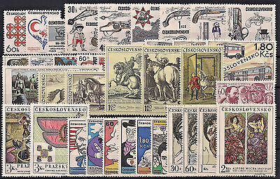 Czechoslovakia 1969, Complete Year Set Stamps, **mnh**