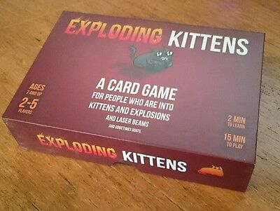 Exploding Kittens Original Edition Fun Party Card Game
