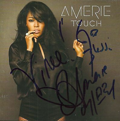 Amerie signed Touch cd