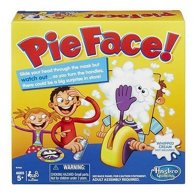 Hasbro Pie Face BoardGame (Official)