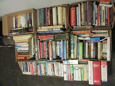 225 Used Mixed Books Most In Great Condition Private Library Wholesale  Joblot