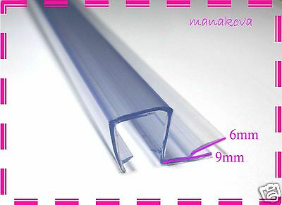 1Streak Shower Screen Door Seal Silicone Flexible Strip PS002  L-95cm
