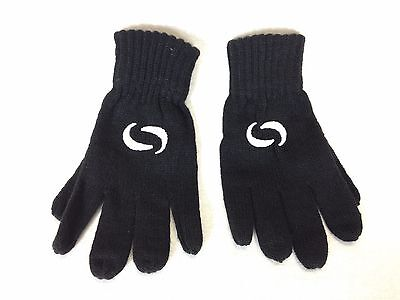 New Knited Winter Gloves Junior One Size Black A131-1
