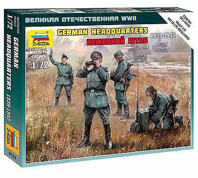 Zvezda - German headquarters 1939-1942 - 1:72